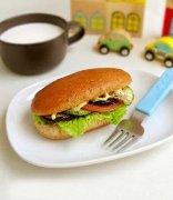 健康营养早餐-蔬菜三明治