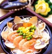 黄鱼海鲜原汁面