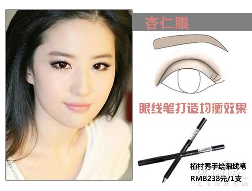 单眼皮撞上金鱼眼 刘雯陈妍希示范不良眼型改造