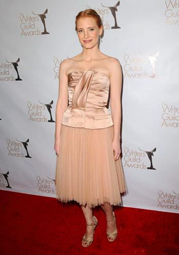 曾获第25届芝加哥影评最佳女主角Jessic